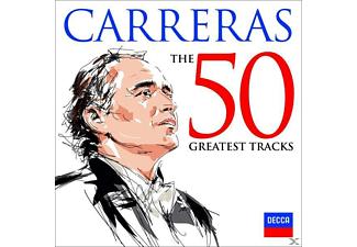 José Carreras - Jose Carreras-The 50 Greatest Tracks [CD]