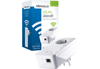 DEVOLO 9826 dLAN 550+ WiFi, WiFi Powerline Adapter