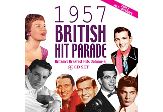 VARIOUS - The 1957 British Hit Parade, Part 2 - (CD)