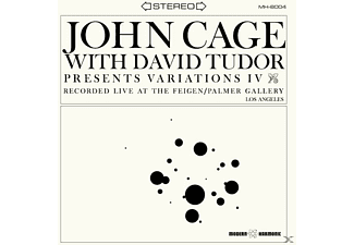 John Cage - With David Tudor-Variations IV (LP) - (Vinyl)