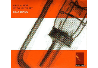 Billy Bragg - Life's A Riot With Spy Vs Spy - (CD)