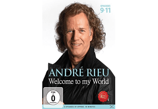 André Rieu - Welcome To My World: Episodes 9 - 11 | DVD + Video Album