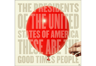 The Presidents Of The U.s.a. - These Are The Good Times People - (CD)