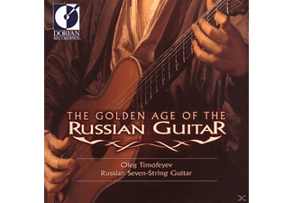 Oleg Timofeyev - The Golden Age Of The Russian Guitar - (CD)