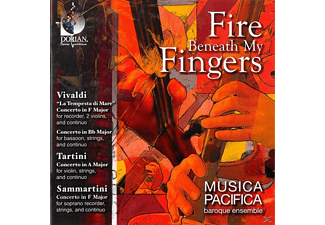Musica Pacifica - Fire Beneath My Fingers - (CD)