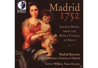 Baroque Orchestra Of Madrid/Matthews/Cam - Madrid 1752 - (CD)