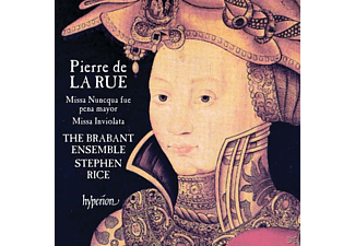 The Brabant Ensemble, Stephen Rice - Missa Nuncqua fue pena mayor/Salve Regina VI/+ - (CD)
