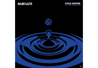 Major Lazer, Justin Bieber, MØ - Cold Water - (5 Zoll Single CD (2-Track))