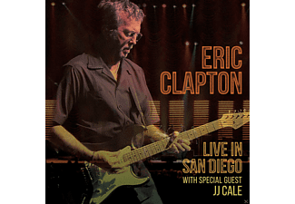 Eric Clapton, J.J. Cale - Live In San Diego (With Specialguest JJ Cale) [CD]