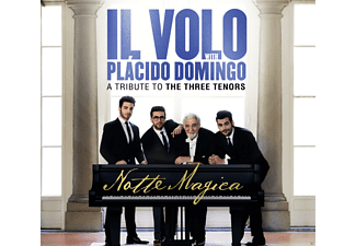 Il Volo, Plácido Domingo - Notte Magica-A Tribute To Three Tenors (Live) [CD + DVD]