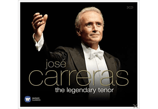 José Carreras - The Legendary Tenor [CD]