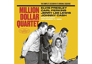 The Million Dollar Quartet - The Million Dollar Quartet: The Master Takes - (CD)