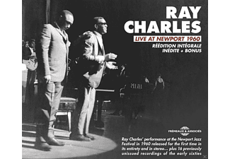 Ray Charles - Live At Newport 1960 Réédition Intégrale Inédite/+ - (CD)