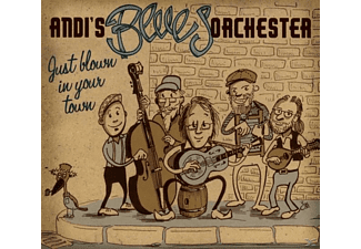 Andi's Blues Orchester - Just blown in your town - (CD)