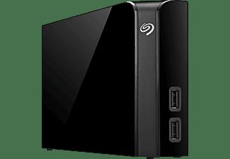 SEAGATE STEL6000200 Backup Plus HUB Desk, 6 TB, Schwarz, Externe Festplatte, 3.5 Zoll