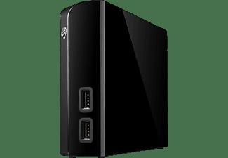 SEAGATE STEL4000200 Backup Plus HUB Desk, 4 TB, Schwarz, Externe Festplatte, 3.5 Zoll