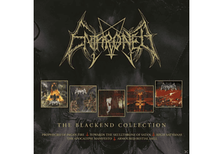 Enthroned - Blackend Years (4CD Box) - (CD)