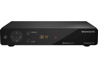 SKYWORTH SKW-T 20 DVB-T2 HD Receiver (HDTV, DVB-T2 HD, Schwarz)