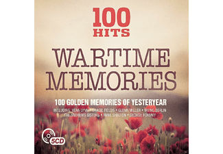 VARIOUS - 100 Hits-Wartime Memories [CD]