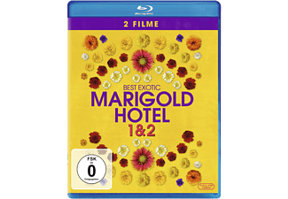 Best Exotic Marigold Hotel 1 & 2 [Blu-ray]