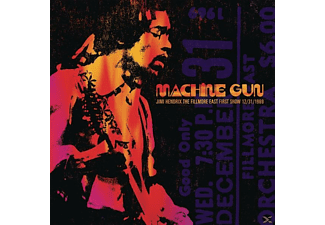 Jimi Hendrix - Machine Gun Jimi Hendrix The Fillmore East 12/31/1 - (Vinyl)