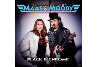 Ali Maas & Micky Moody - Black & Chrome - (CD)