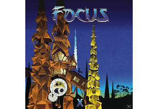 Focus - X (Digibook CD Edition) [CD]