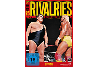 WWE PRESENTS THE TOP 25 RIVALRIES IN WRESTLING HISTORY [DVD]