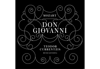 Teodor Currentzis, Musica Aeterna Chor & Orch. - Don Giovanni - (CD)
