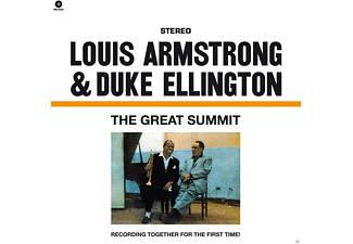 Armstrong, Louis & Ellington, Duke - The Great Summit (180g Vinyl)-Jean-Pierre Leloir [Vinyl]
