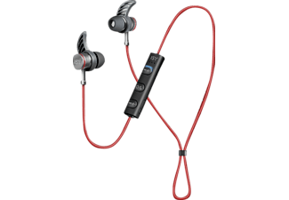 ISY IBH-5000, In-ear Headset, Schwarz/Rot