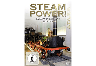 Steam Power! Railway In Germany 1835-1939 [DVD]