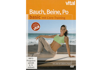 Bauch, Beine, Po basic mit Core-Training - (DVD)