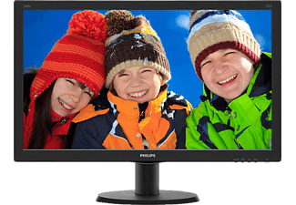 PHILIPS 240V5QDAB/00 23.8 inç 5 ms HDMI Full HD IPS Mönitör Siyah