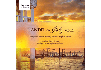 Benjamin Bevan, Mary  Bevan, London Early Opera, Sophie Bevan - Händel in Italien Vol.2 - (CD)