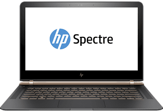 HP Spectre 13-v130ng, Notebook mit 13.3 Zoll Display, Core™ i7 Prozessor, 8 GB RAM, 512 GB SSD, HD-Grafik 620, Dark Ash Silver