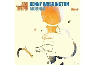 Kenny Washington - Moanin-Live at Jazzhus Montmartre - (CD)
