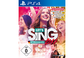 Let's Sing 2017 Inkl. Deutschen Hits [PlayStation 4]