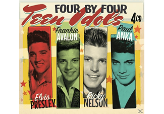 Presley, Avalon, Nelson & Anka - Four by Four-Teen Idols - (CD)
