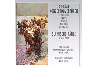 VARIOUS - Konzert-Ouvertüren/Slaw.Tänze [CD]