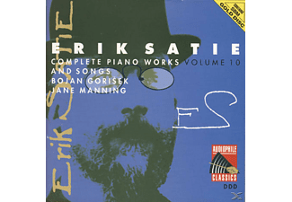 Érik Alfred-Leslie Satie - Piano Works Vol.10 - (CD)