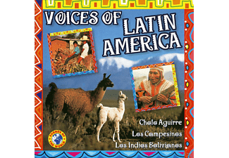 VARIOUS - Voices of Latin America - (CD)