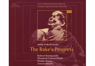 Igor Stravinsky - The Rake's Progress - (CD)