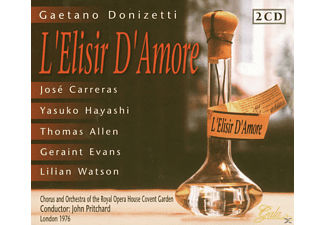 John Pritchard, Chor Of The ROHCG, Chor Of The War Memorial Opr House, VARIOUS - L' Elisir D' Amore - (CD)