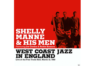 Shelly & His Men Manne - West Coast Jazz In England 2/3/1960 - (CD)