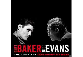 Baker, Chet & Evans, Bill, Complete Legendary Sessions - Complete Legendary Sessions - (CD)