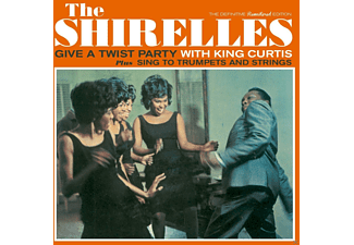 The Shirelles - Give A Twist Party With King Curtis+Sing To Trum [CD]