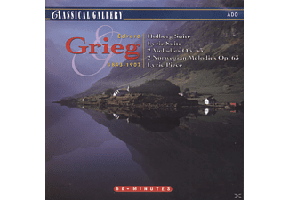 Various - Holberg Suite. Lyric Suite 2 Melodies. 2 Nordic Melodies. Lyric Piece No. 4 - (CD)