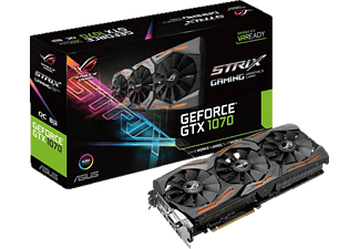 ASUS GeForce GTX 1070 ROG Strix OC 8GB (STRIX-GTX1070-O8G-GAMING)(NVIDIA,  Grafikkarte)