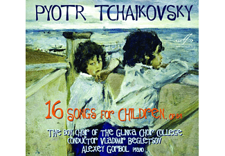 Alexey Goribol, Choir College The Boy Choir Of The Glinka - 16 Songs for Children,op.54 - (CD)